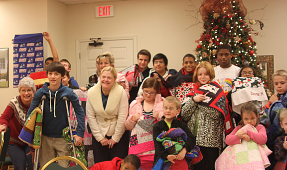 Quilters Provide Calvary Children's Home with Quilts and Pillowcases