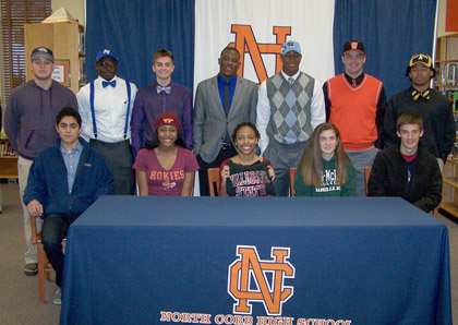 North Cobb High School ~ 12 Athletes Sign with Colleges.