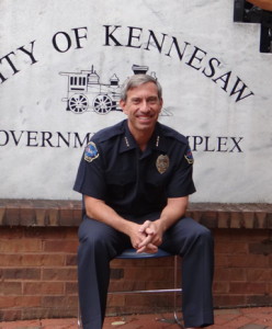 Kennesaw Police Chief Westenberger Accepts the Challenge
