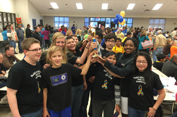 Awtrey Middle School Students Inspired to Make a Difference