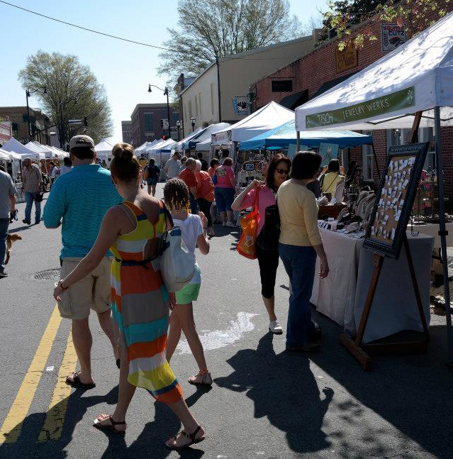 Marietta Square Artists Market – April 11