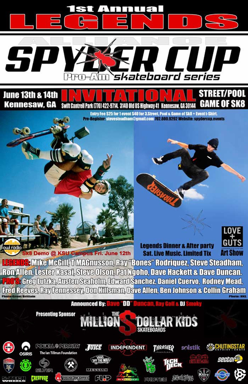 Spydercup is Going Down at Kennesaw Skate Park