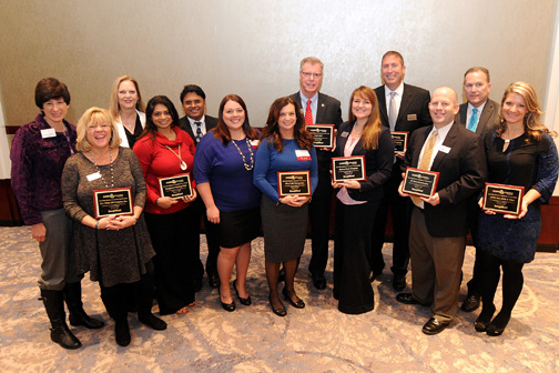 2015 SAM OLENS BUSINESS COMMUNITY SERVICE AWARD WINNERS