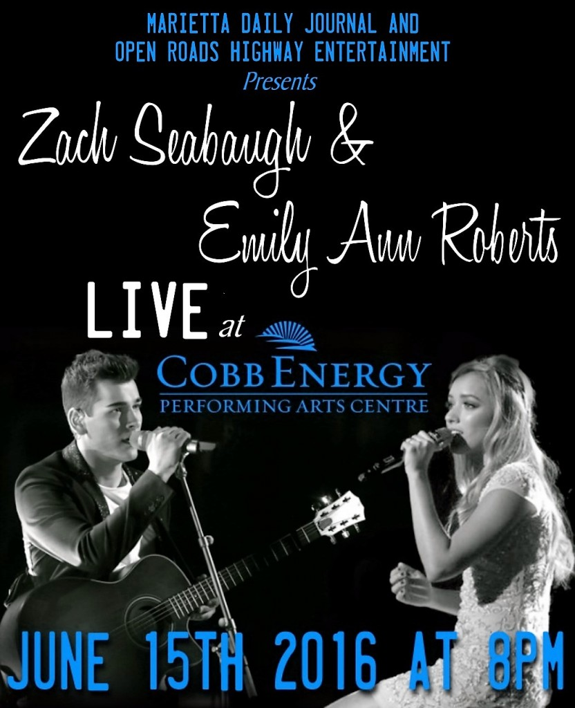 Zach Seabaugh and Emily Ann Roberts in Concert