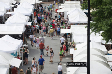 Art In The Park – Labor Day Weekend – Marietta Square!