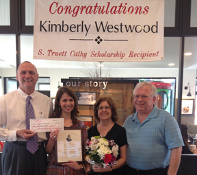 CONGRATULATIONS KIMBERLY WESTWOOD