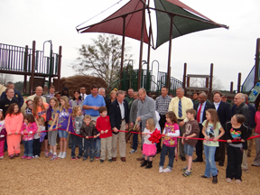 NEW PLAYGROUND AT CAUBLE PARK