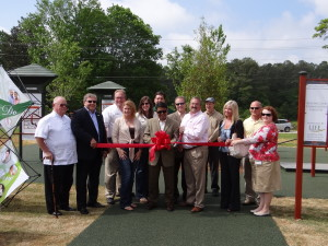 Fitness Equipment Installed at  Swift Cantrell Park