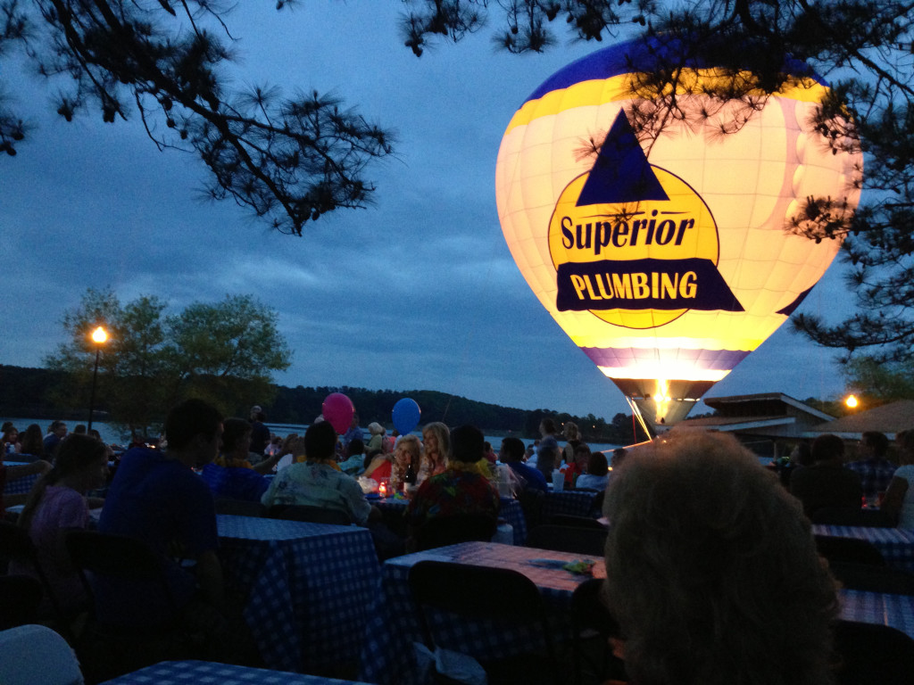 Superior Plumbing's Hot Balloon ~ Spectacular