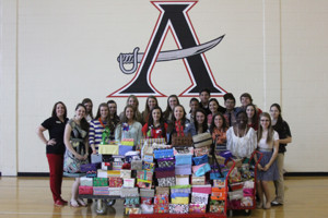 Allatoona High School's Teen Shoe Box Party