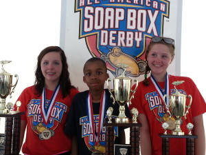 Marietta Soap Box Derby Winners