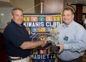 Kiwanis Club of Marietta honor Devan Seabaugh