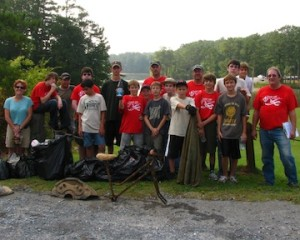 Great Lake Allatoona Clean Up