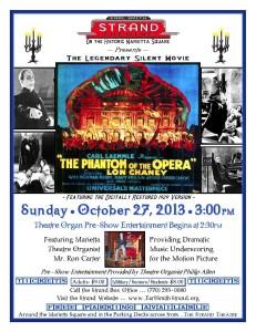 Phantom of the Opera at the Strand, Marietta – Sun Oct 27