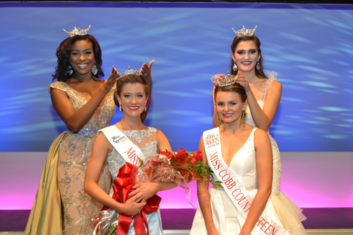 2018 Miss Cobb County, Victoria Hill