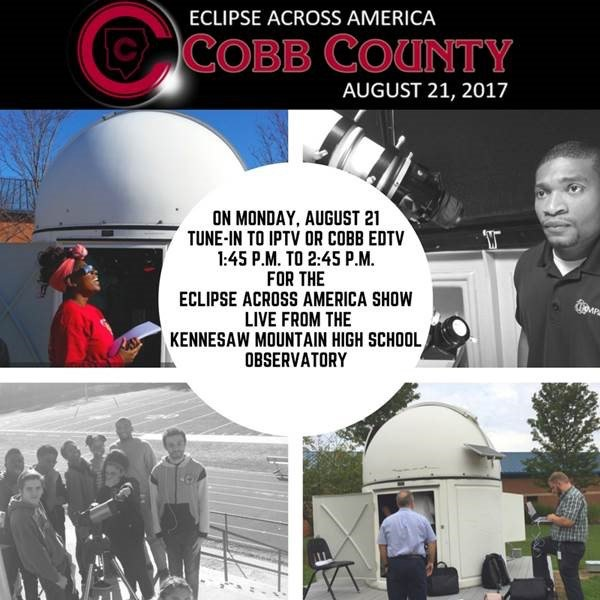 Kennesaw Mountain HS to Broadcast Live Eclipse Show