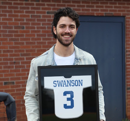 Dansby Swanson honored by Marietta High School