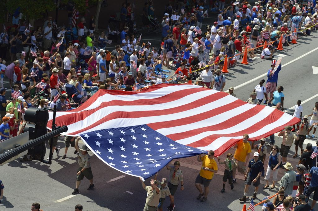 MARIETTA'S JULY 4 CELEBRATION AND PARADE