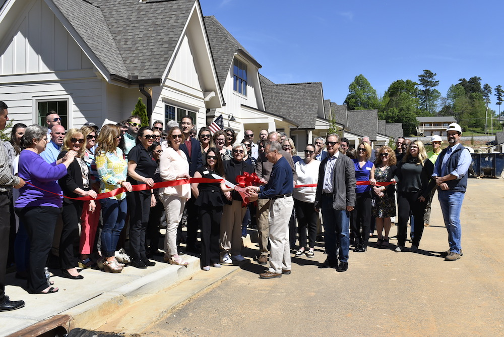HOLBROOK ACWORTH RIBBON CUTTING